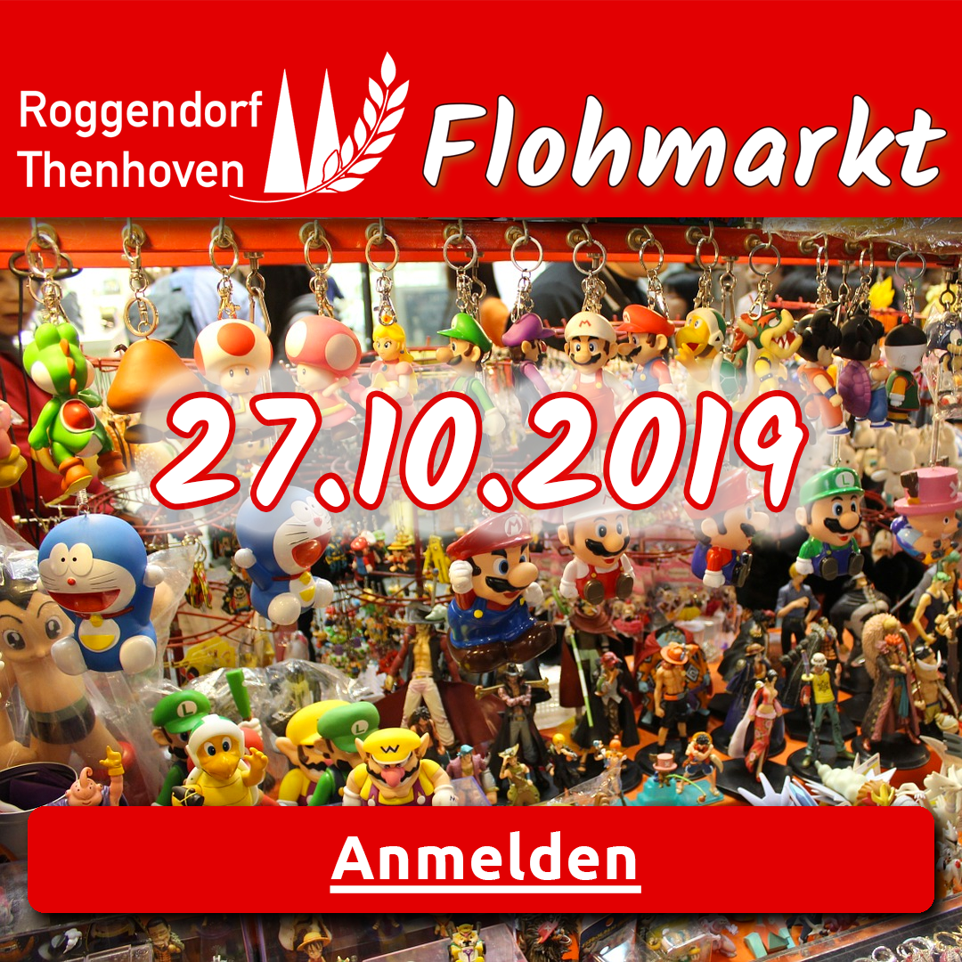 1 Flohmarkt Koln Roggendorf Thenhoven 27 10 2019